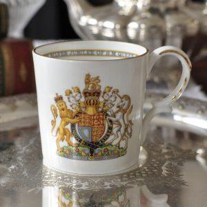 エインズレイ エリザベス女王戴冠25周年 カップ
