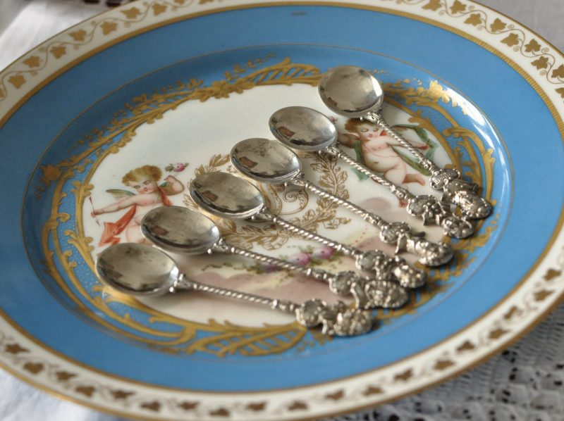 sterling silver coffee spoon