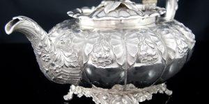 アンティーク スターリングシルバー (純銀)の簡単な見分け方