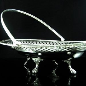Antique Silver plated basked by Henry Wilkinson & Co , ltd,