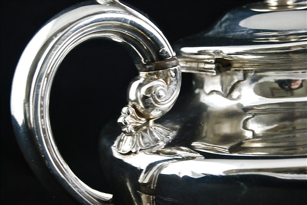 純銀 ジョージアン ティーポット William Bateman II