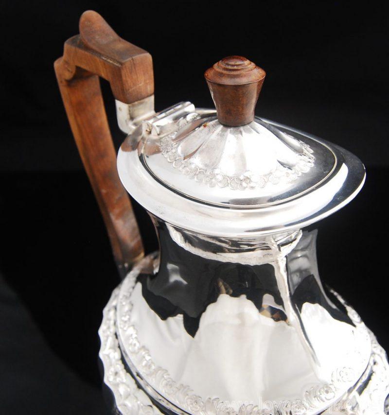 アンティークシルバー コーヒーポット