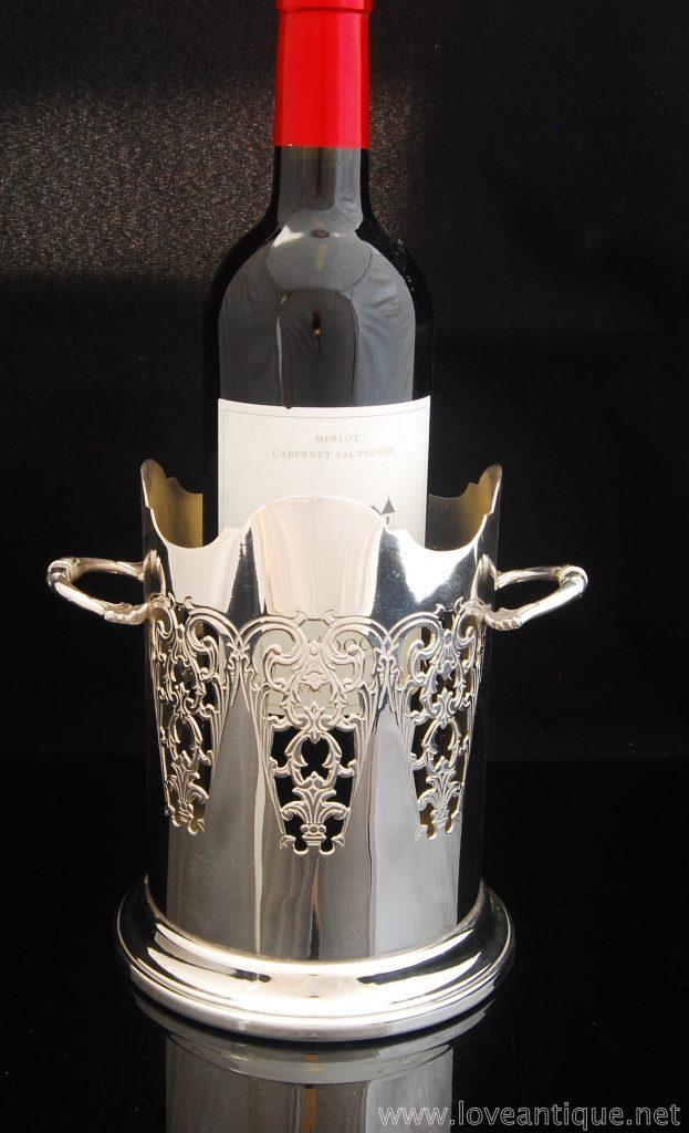 シルバーワインコースター
