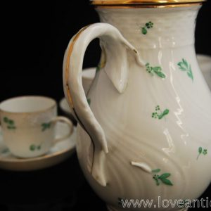 Herend Scatered flower coffee pot
