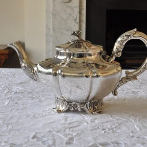 Antique Victorian Sterling Silver Teapot Henry Holland