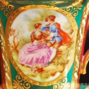 キャビネット陶器 Babaria Germany