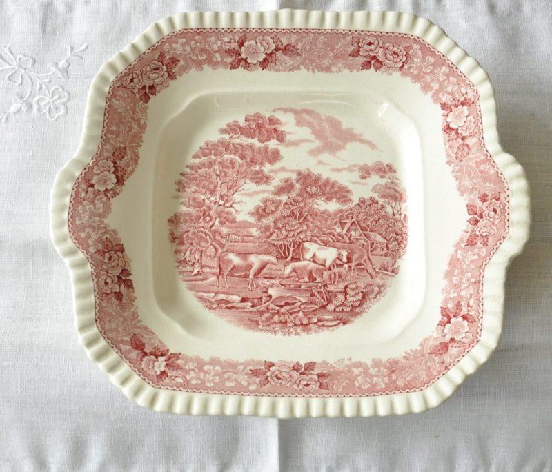 ウィリアムアダムス アンティーク ケーキ皿/BB プレート
