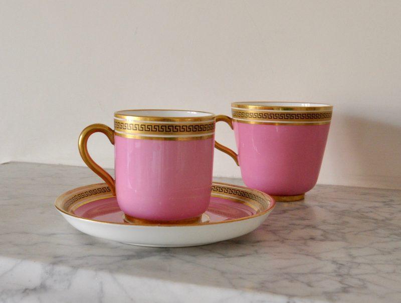 ビクトリアン ピンク ティー コーヒー カップ