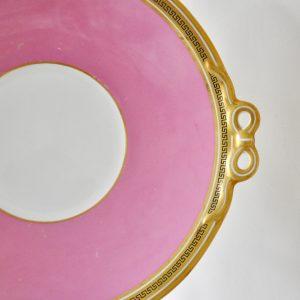 ビクトリアン ピンク ケーキ皿