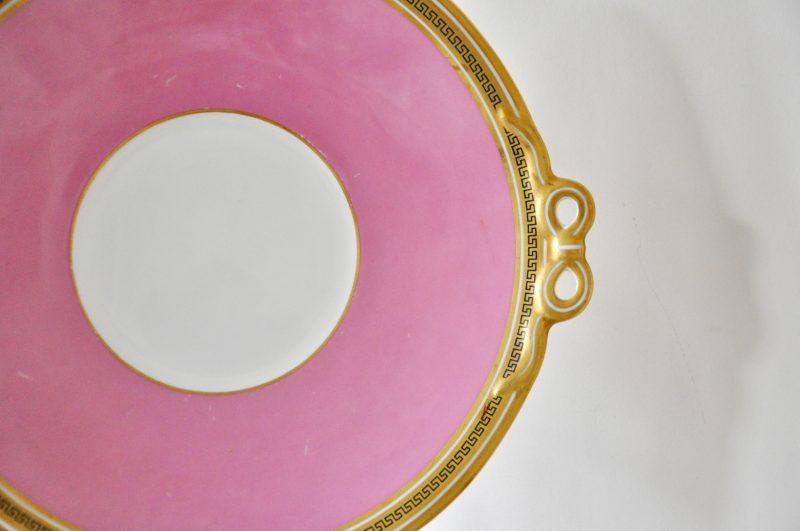 ピンク ビクトリアン ケーキ皿