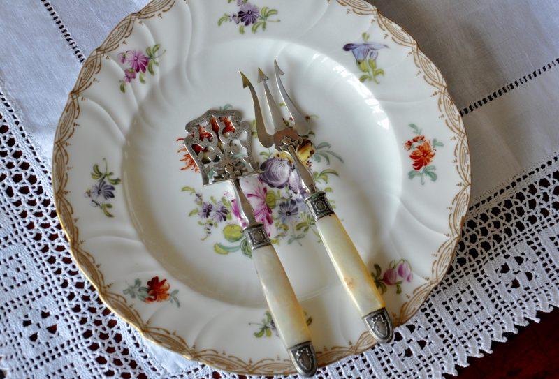 アンティーク フレンチ ケーキサーバー マザーオブパール